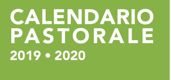 Calendario Pastorale 2020.Calendario Parrocchiale 2019 2020 Parrocchia San Giovanni